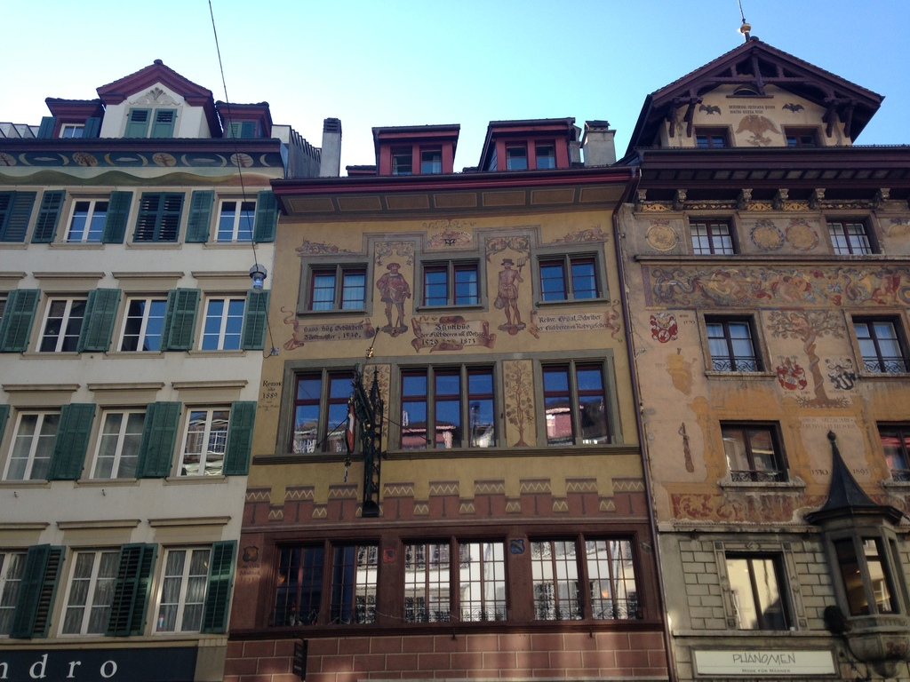 Old town of Lucerne.