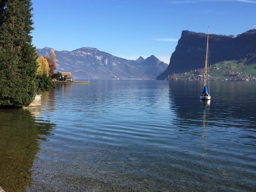 From bike trip around Lake Lucerne