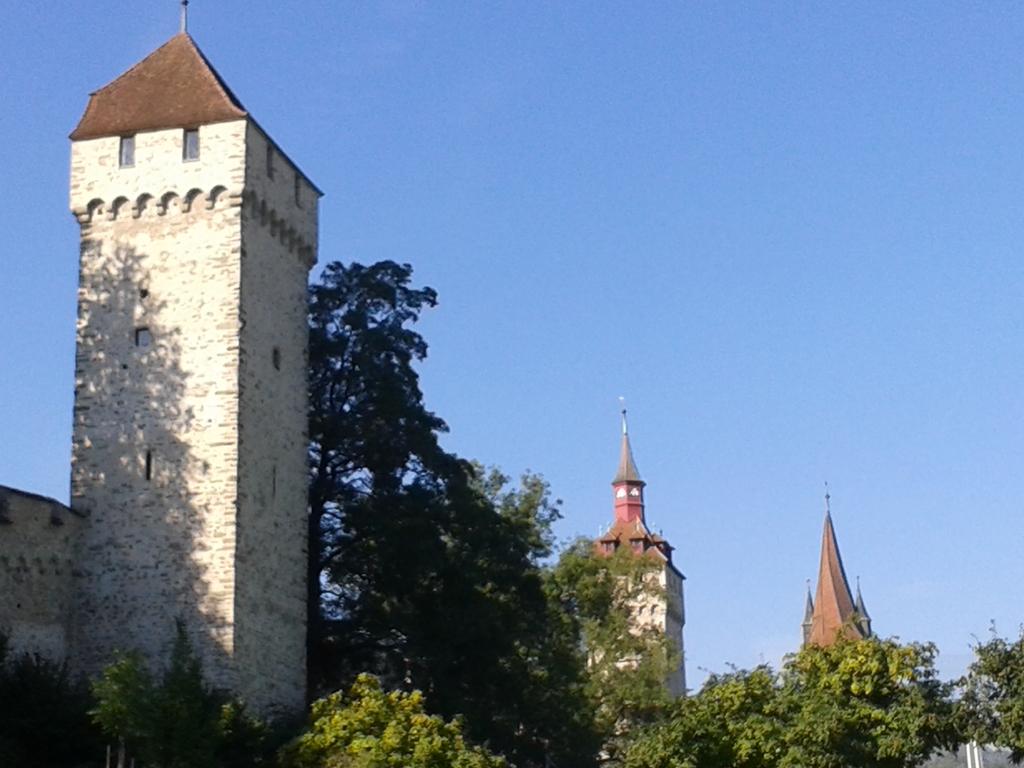 Museggtürme (Stadtmauer) in Sichtweite von unserer Wohnung