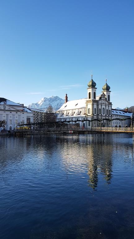 Jesuitenkirche Luzern Winter 2021