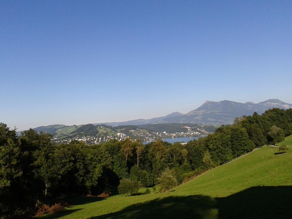 """Spaziergang von 3/4 Stunden zum """"Schwyzerhüsli"""", Restaurant"""