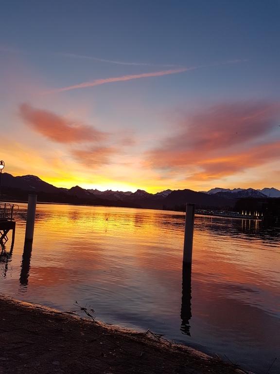 Morgenstimmung am Vierwaldstättersee in Luzern