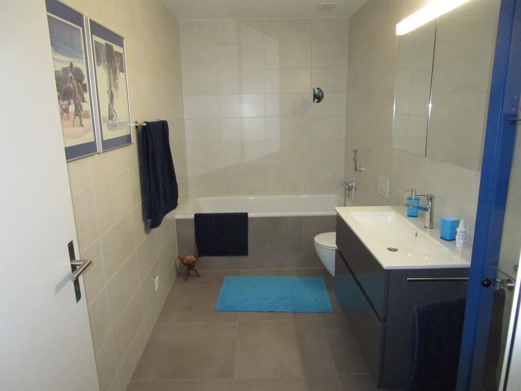 Gäste Bad und WC