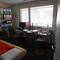 Arbeitszimmer mit Gästebett
