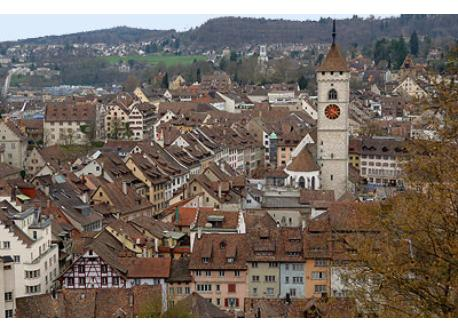 center of Schaffhausen