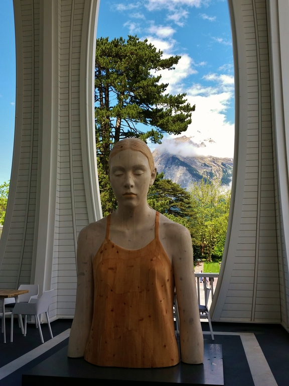 sculpture exhibition in Bad Ragaz