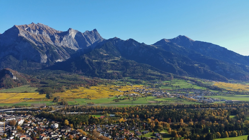 Bad Ragaz and Maienfeld