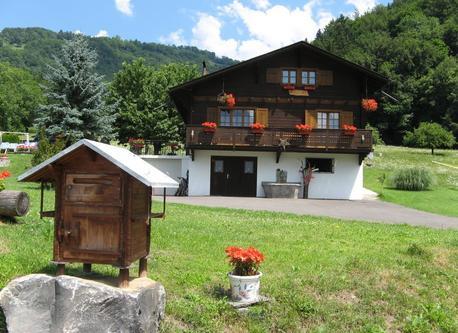 Notre chalet  en Suisse