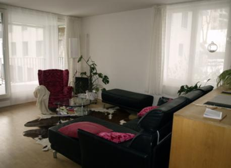 Livingroom with a big balcony to the south.