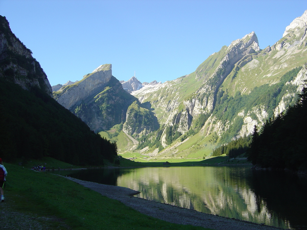 Lake in the mountains (20min drive by car and 45min walk)