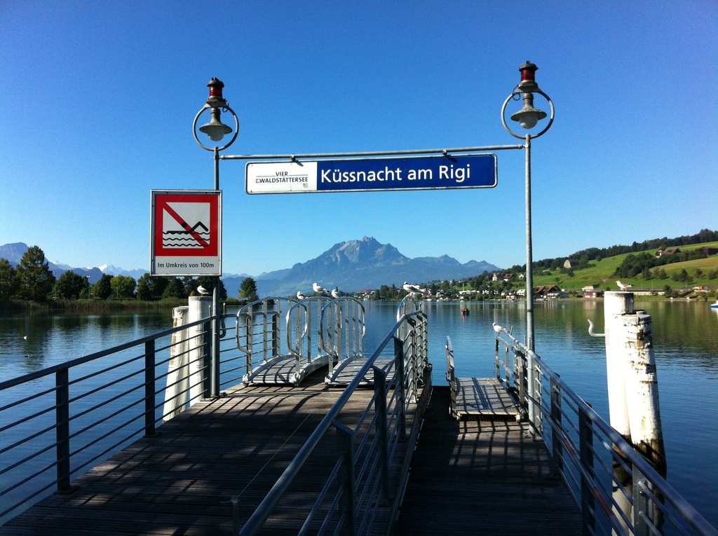Küssnacht liegt am Vierwaldstättersee.