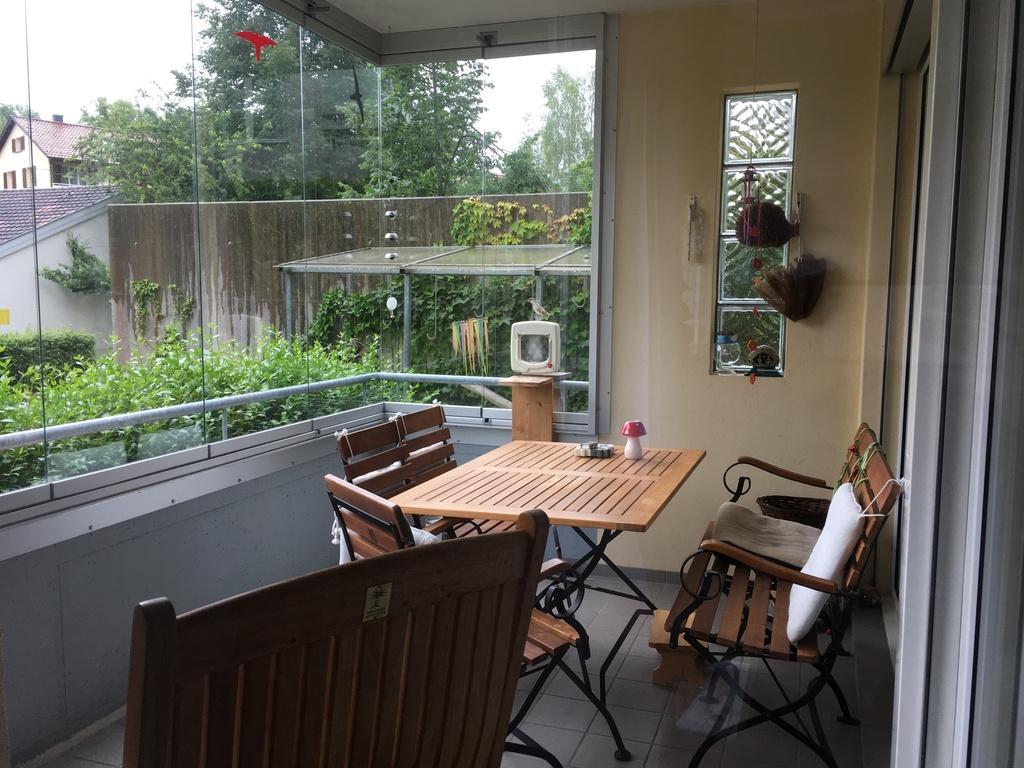 glazed protected balcony/verglaster Balkon