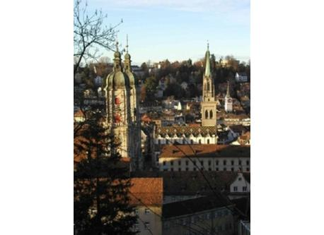 UNESCO World Heritage Site Abbey Precint of St.Gallen, 12 Min. to walk from our home