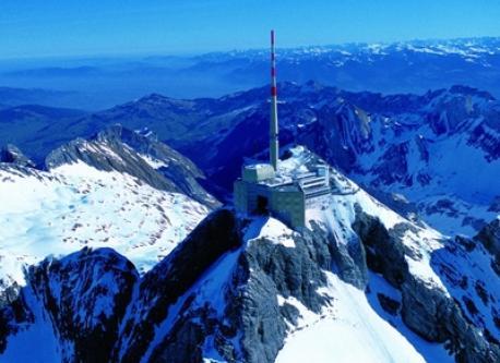 Säntis and the Alpstein
