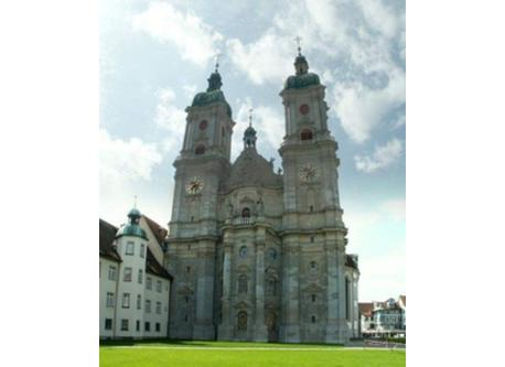 cathetral of St.Gallen, 10 Min. to walk from our home