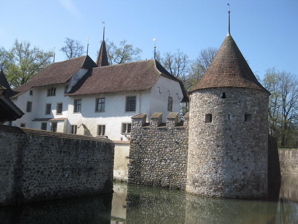 Hallwyl castle (30km)