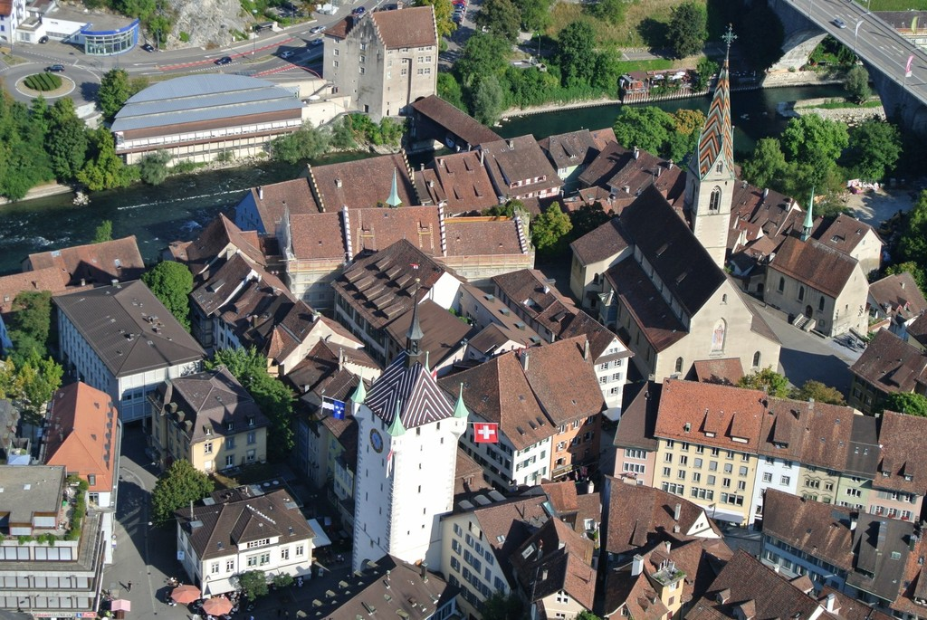 Medieval town of Baden (5km)