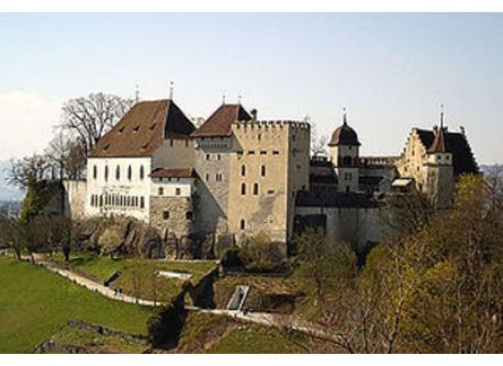 Lenzburg Castle (you can see it from our home; lot of attractions)