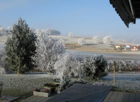 fiew from our garden-terrace in the winter