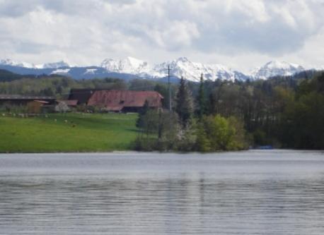 Schiffensee, directly next to Kleingurmels