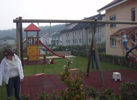 playground belonging to our house