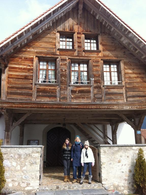 Dans le village de Trub dans le canton de Berne.  In the german part of Switzerland.