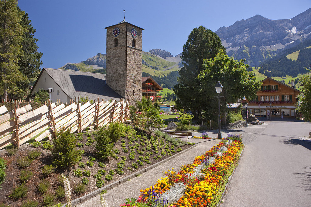 Heart of the village Adelboden