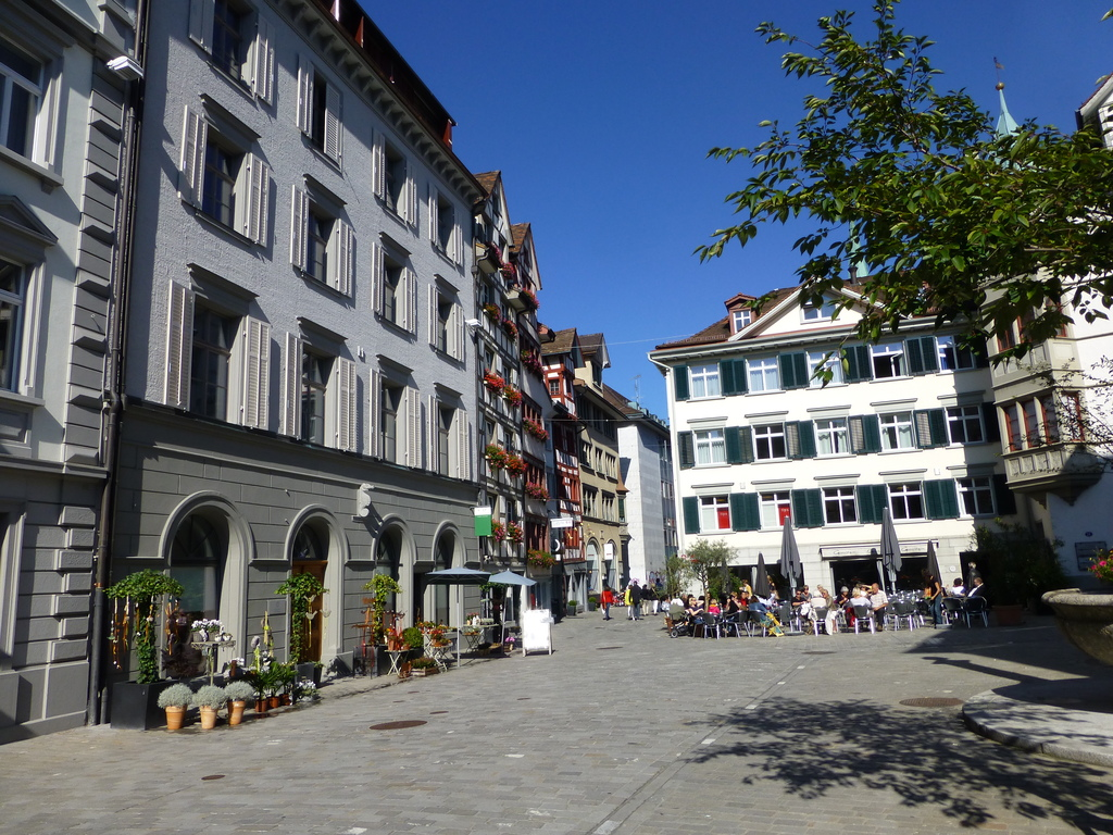 St. Gallen city center