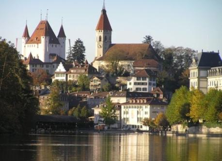 City and castle of Thun