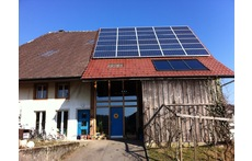 House with solar power