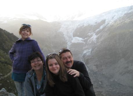Beim unteren Grindelwaldgletscher / Glacier inférieur de Grindelwald