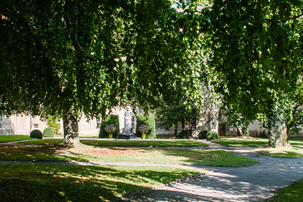Stroll through the gardens and hallways of the Jesuit college built in the 13th century - in our neighbourhood