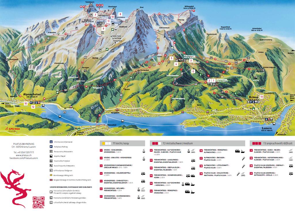 Freizeit Region Luzern