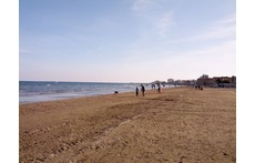 Beach in Larnaca