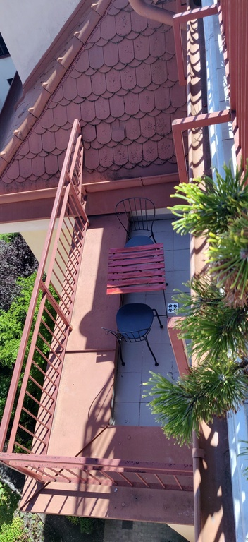 balcony from the top