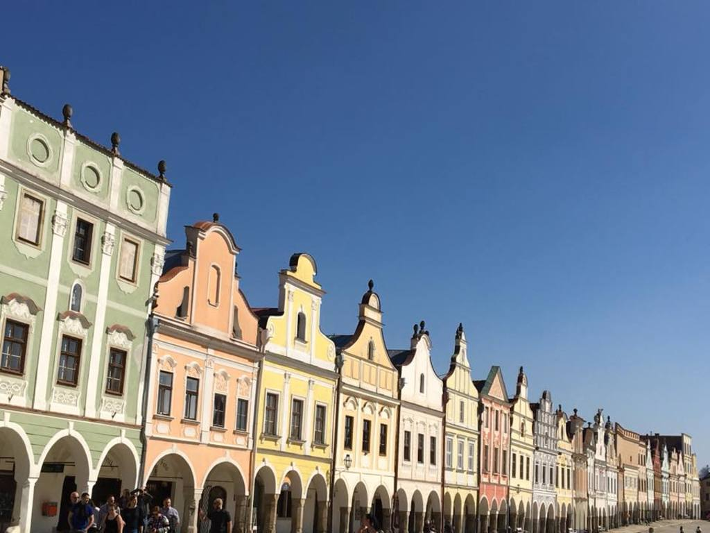 Historic centre of Telc is registered as a UNESCO heritage site, 40 minutes from Brno