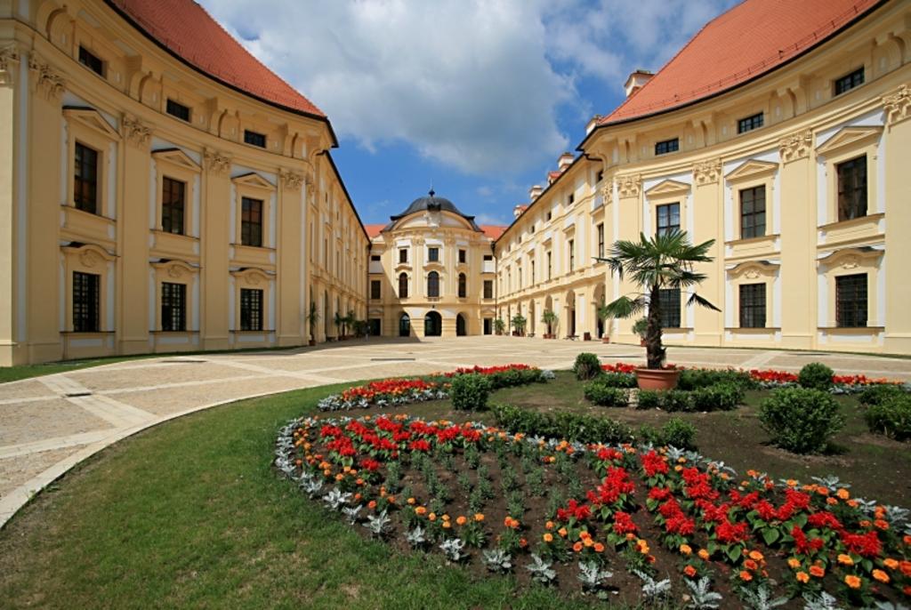 Austerlittz (Slavkov) Palace, 20 minutes ride from Brno