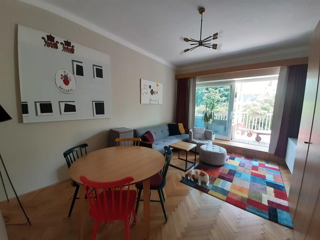 Prague apartment, living room