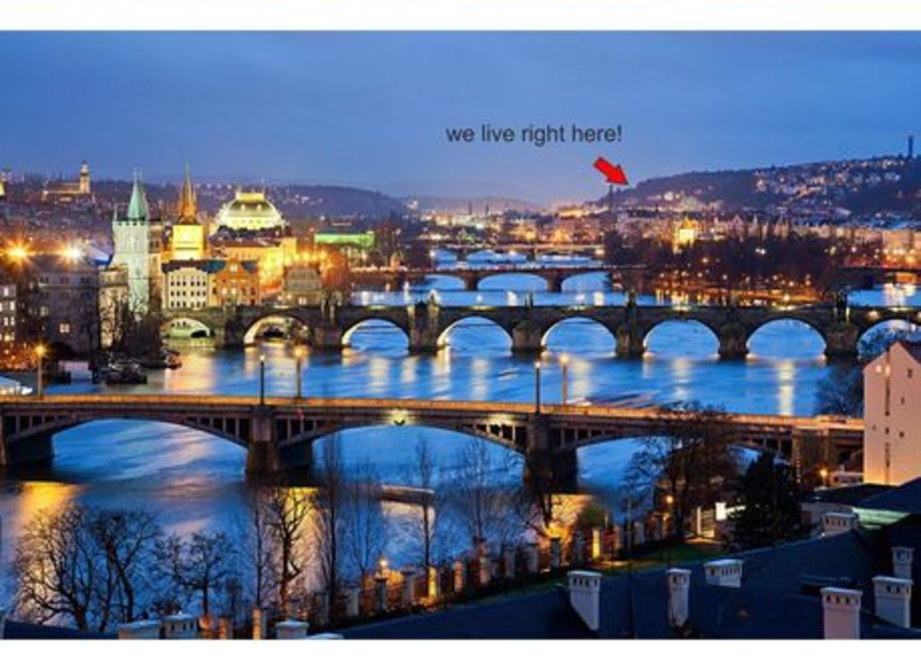 Vltava valley and our location
