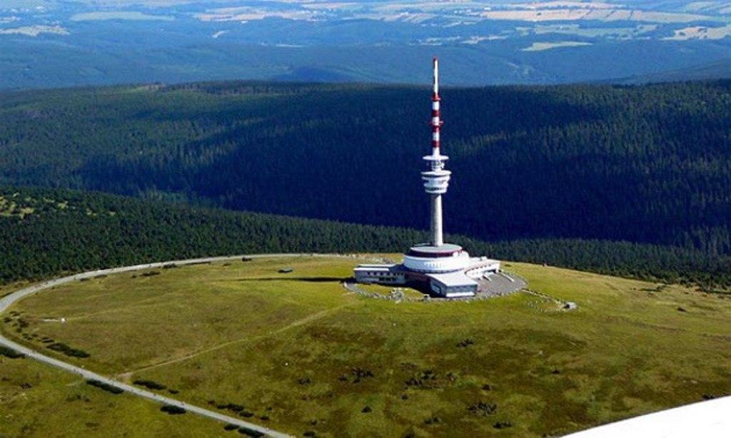 The highest mountain of Jeseníky - Praděd