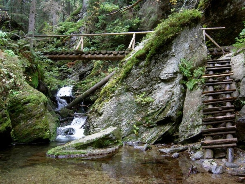 trails in the Jeseníky Mountains