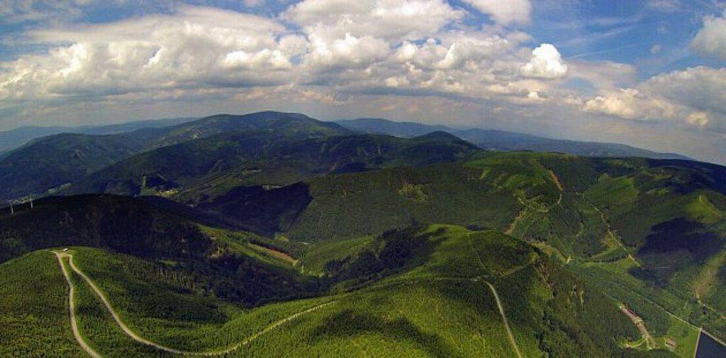 the Jeseníky Mountains
