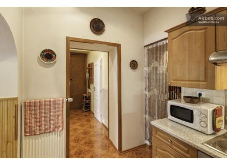 Kitchen, entrance hall.