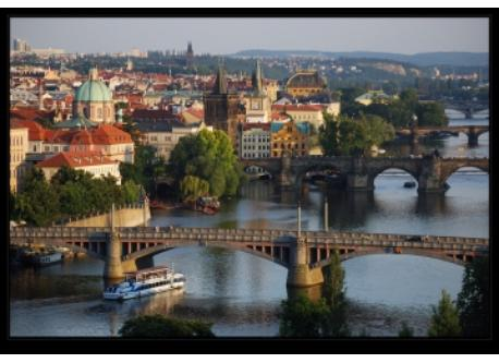 Charles Bridge&Vltava River