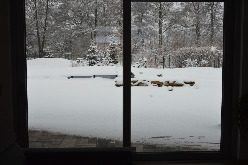 View from our Living room - winter