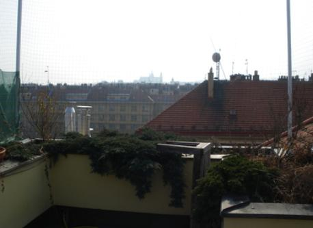 View From The Terrase, The Prague Castle Sillhouete