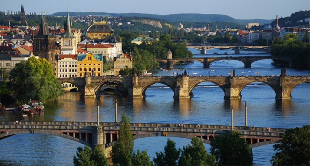 Prague city centre with Vltava river (30 minut by public transport)