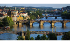 Prague city centre with Vltava river (30 minut by public transport)