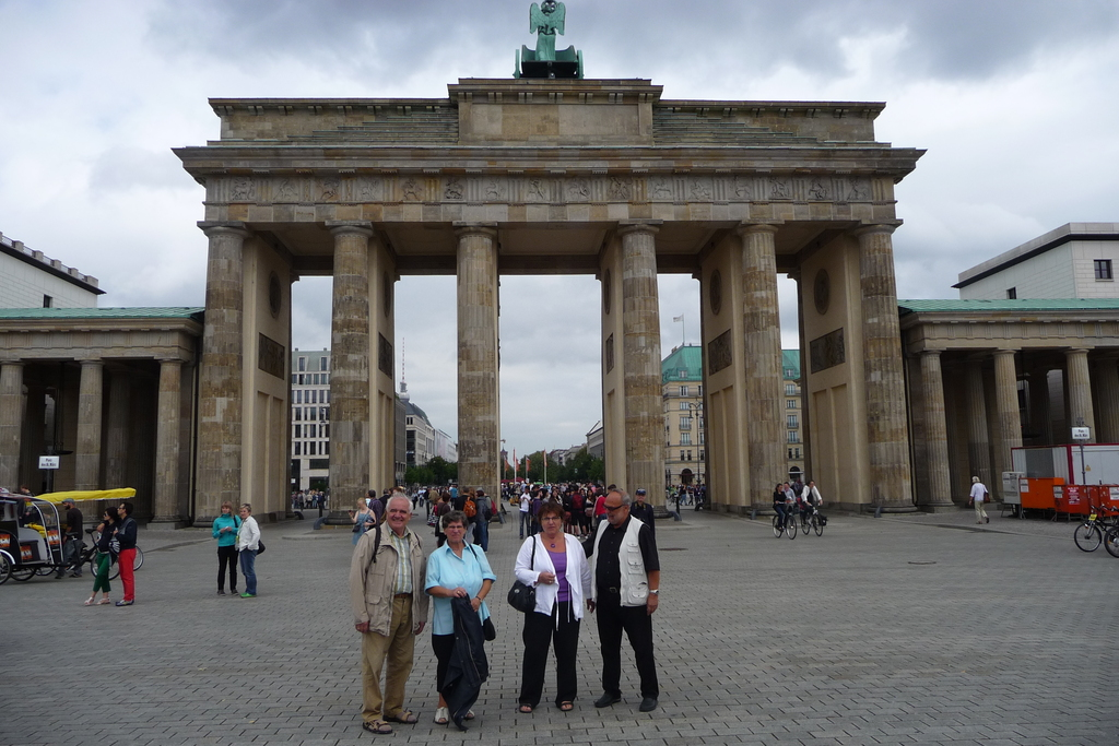 Brandenburger Tor, 4.9 km, easy reachable by bike