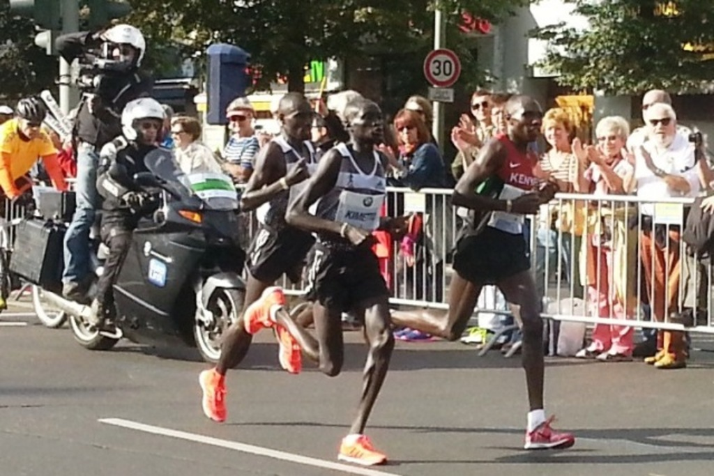 Berlin Marathon, every year end of September (winners 2014: Kimetto and Mutai)